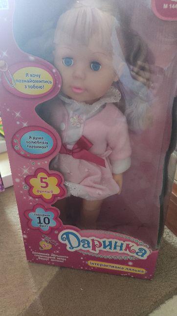 Интерактивная кукла Даринка