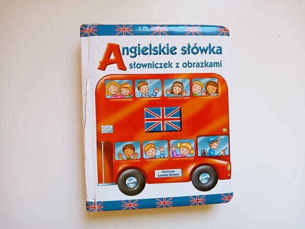 Słowniczek, słownik z obrazkami do nauki angielskiego dla dzieci