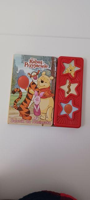 Kubuś Puchatek balonik dla prosiaczka książka interaktywna