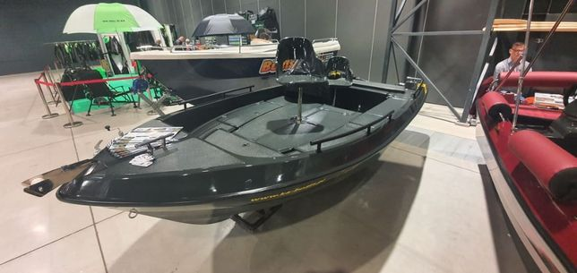 Łódka łódki łodzie wędkarska wiosłowa motorowa ka-boats 440 BASS NOWOŚ