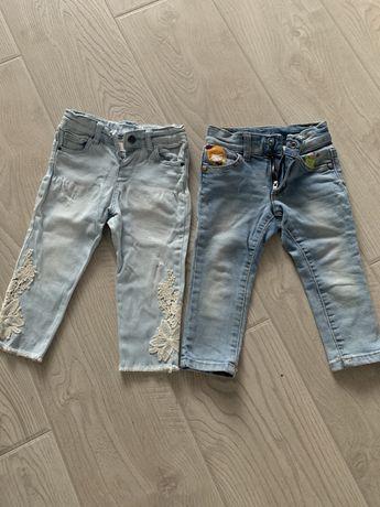 Штани джинси на дівчинку zara