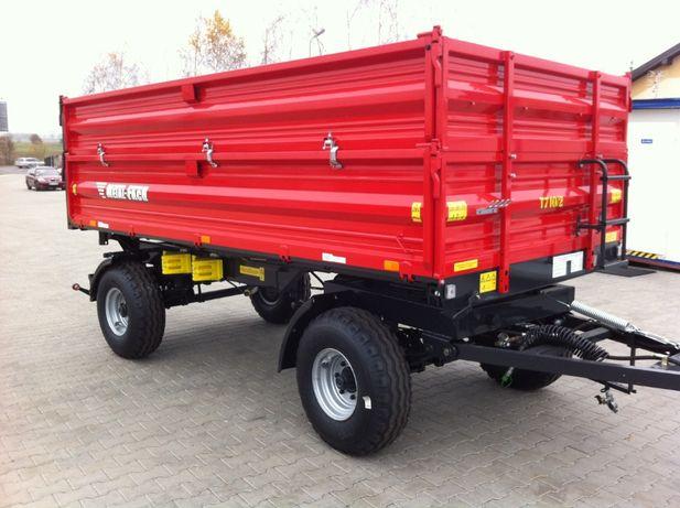 Przyczepa Metal Fach T710/2 8 ton + Nadstawki!!! Od Ręki! Transport!