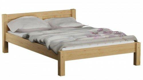 Łóżko drewniane 160x200 z szufladą