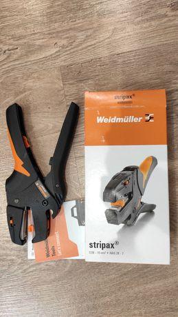 Профессиональный инструмент для снятия изоляции Weidmuller Stripax New