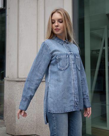 Damska jeansowa koszula marki Oneteaspoon