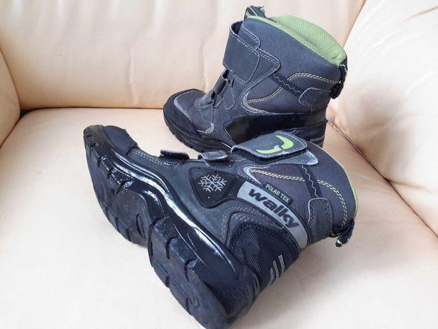 """Buty zimowe, rozmiar 36, firma""""Walky"""",ciepłe,rzepy"""