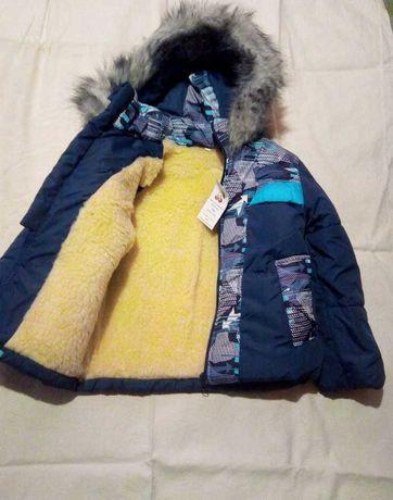 Новые зимний костюм - куртка и полукомбинезон