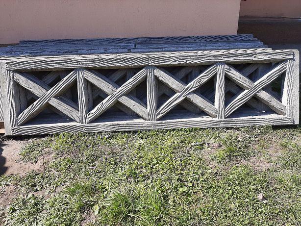 Бетонна плита, бетонний забор