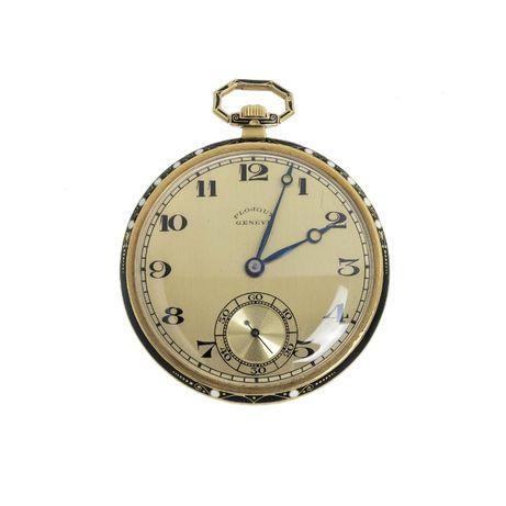 Relógio Bolso Ouro Plojoux