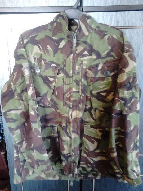 Bluza Wojskowa Brytyjska DPM Woodland Oryginalna i pokrowiec na hełm