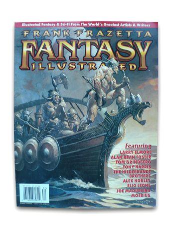Frank Frazetta Fantasy Illustrated #2, 1998