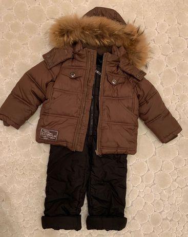 Зимовий одяг для хлопчика