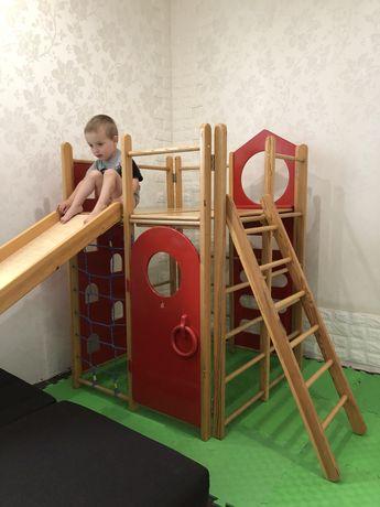 Ранний старт, детская площадка, горка, домик, игровой центр