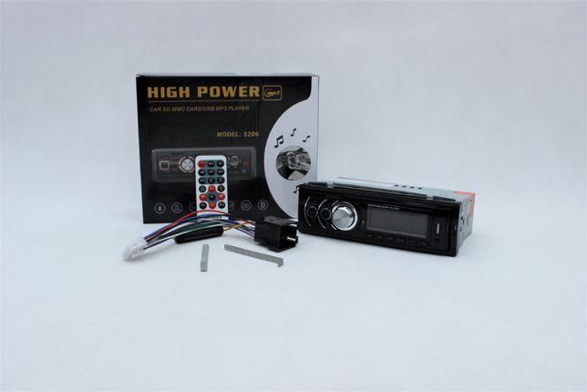 Radio samochodowe | MP3, USB, AUX, SD, Bluetooth, ISO, 4x60W, Pilot