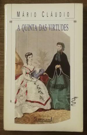 a quinta das virtudes, mário cláudio, quetzal