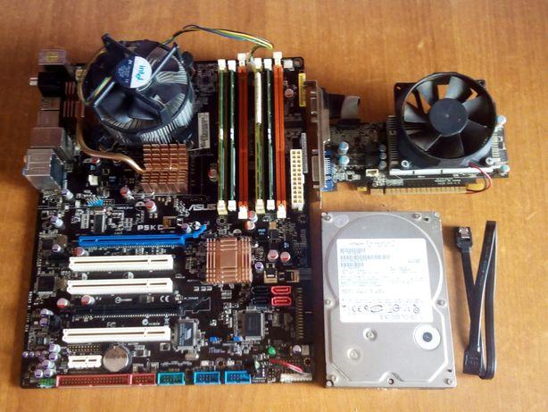 Asus P5KC/Intel Q8300/4 Gb Ddr3/gt 440 1 gb/HDD 320GB