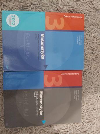 Matematyka zakres rozszerzony podręcznik + zbiór zadań