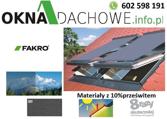 Markiza AMZ 66x98;66x118;66x140 do okno dachowe -FAKRO, OptiLight