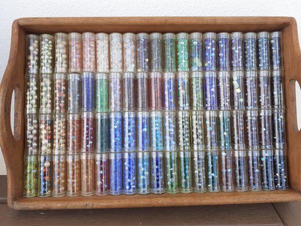 Missangas de qualidade Gutermann, glass beads.