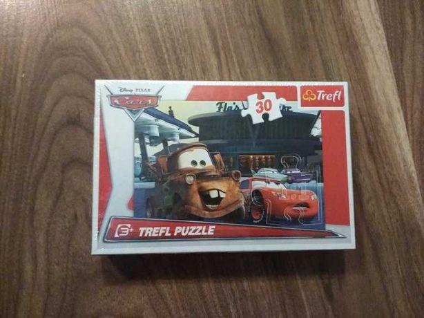 puzzle cars nowe
