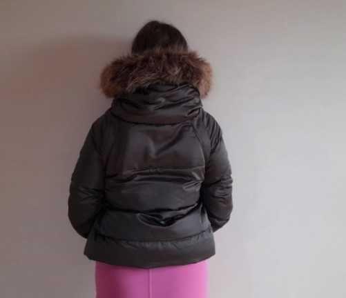 Kurtka krótka puchowa Zara