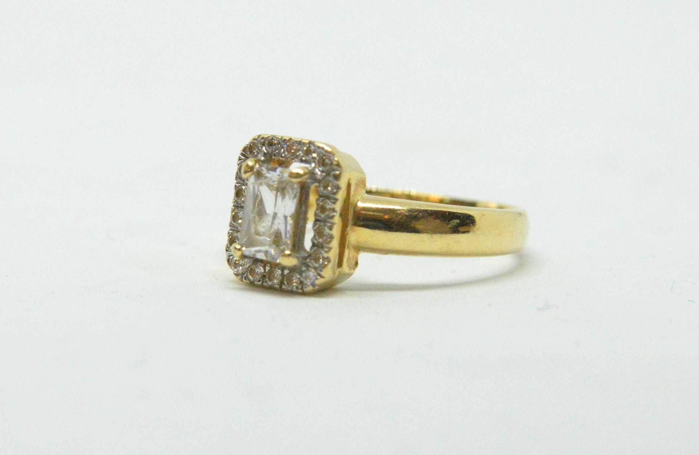 Złoty pierścionek 585 waga 3,37g Rozm. 14 Lombard Tarnów