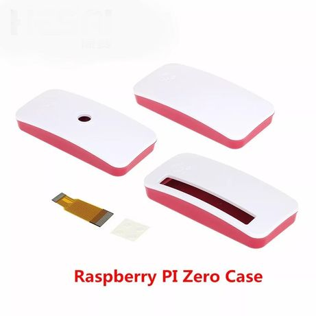 Obudowa Raspberry Pi Zero  zero w- czerwono-biała case