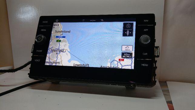 Vw Golf 7 Multimedialny wyświetlacz Navi oryginalny marki VW 5G6
