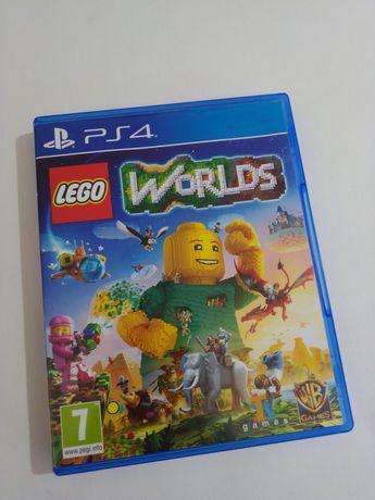 Jogos PS4 -Lego Worlds.