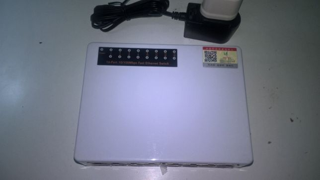 Switch Fast Ethernet 16 portas 100 Mbps