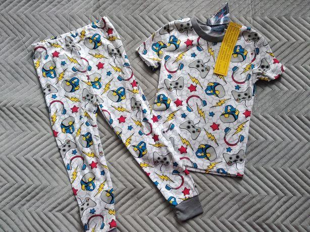 Ciepła piżama 92 nowa chłopięca