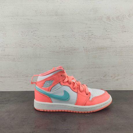 Кроссовки Nike Jordan 1 Mid. Размер 29.5,