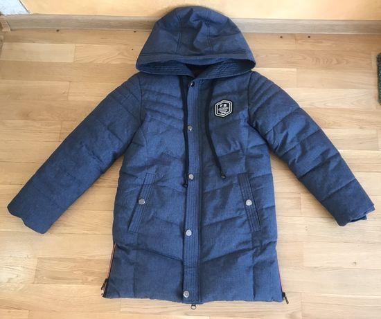 Зимова куртка для хлопчика-підлітка (подростковая зимняя парка,пуховик
