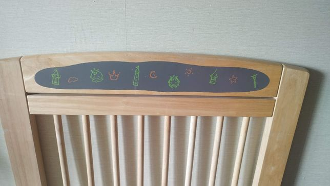 Детская деревянная кроватка для новорожденных фирмы I'M TOY