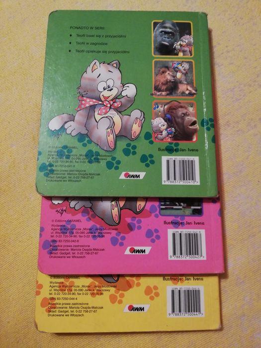 Książka dla dzieci o kotku Teofilu, tytuły widoczne na zdjęciu. Obrowo - image 1