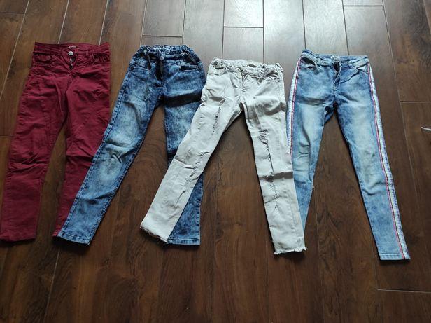 146/152 paka ubrań dla dziewczynki