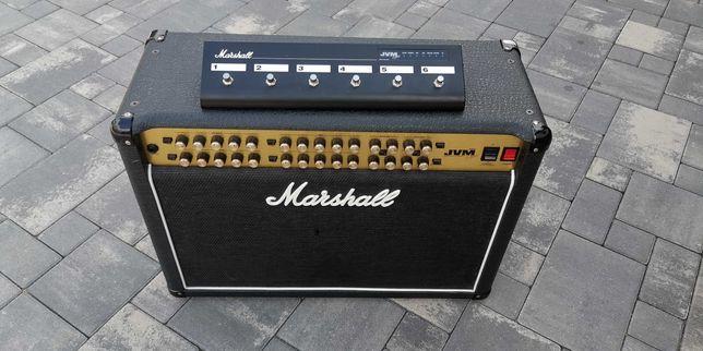 Marshall JVM 410C - lampowy wzmacniacz gitarowy 100W + case