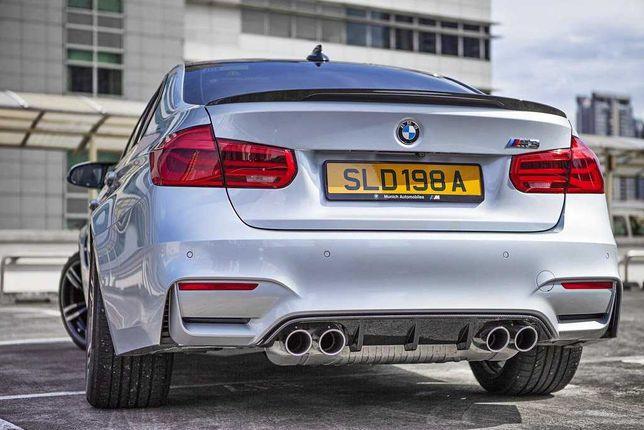 Карбоновый Диффузор накладка бампера BMW M3 F80 M4 F82 M-Performance