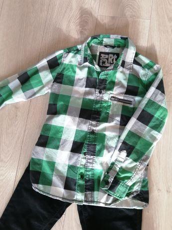 Koszula +spodnie ZARA zestaw