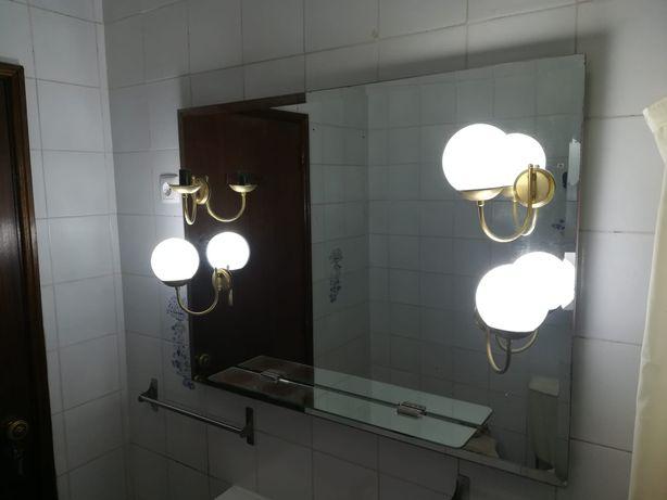 Espelho Casa de Banho - Banco Banheira - WC