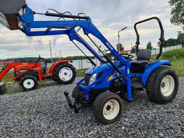 Mini Traktor New Holland 40KM, ładowacz,wspomaganie,mały Traktorek
