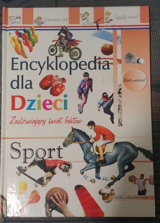 Encyklopedia dla dzieci - zadziwiający świat faktów SPORT