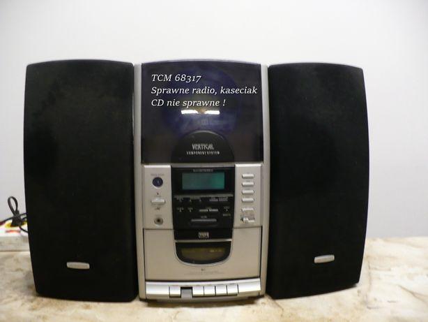 Mini wieża TCM 68317 RADIO, Kaseciak sprawny