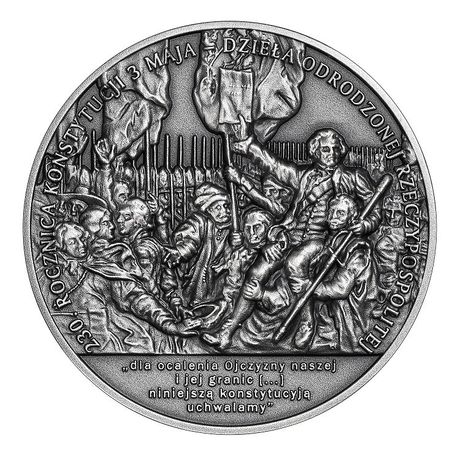 50 zł 230.rocznica Konstytucji 3 Maja, 2021r.