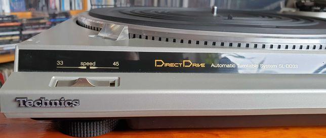 TECHNICS SL-DD33 Gramofon Stereo Direct Drive BDB nowa igła !!!