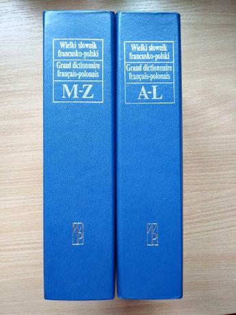 Wielki słownik francusko-polski