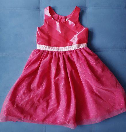 Suknia Sukienka H&M święta wesele dziewczęca 122