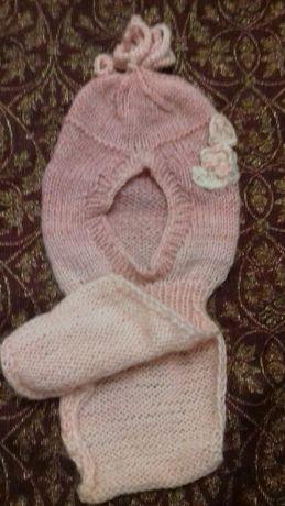 Шапочка-шарфик на весну-осень