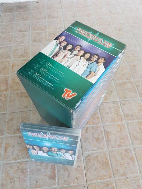 Vendo Colecção DVD Serviço de Urgência (Série 1, 2 e 3 - Completas)