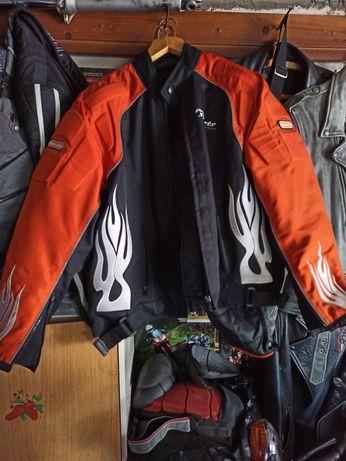 Байкерська мото куртка 2 XL